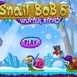 Gameplay Snail Bob 7: Winter Story